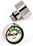 Tech Side Mini Pressure Gauge 350 Bar