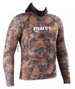 Mares Rash Guard Top Camouflage Brown 2010