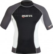Mares Rash Guard Trilastic Short Sleeves Man