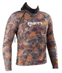 Rash Guard Top Camouflage Brown