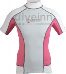 Rash Guard Trilastic Short Sleeves Lady